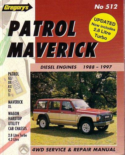 9780855667801: Nissan Patrol/Ford Maverick (Diesel) 1988-97