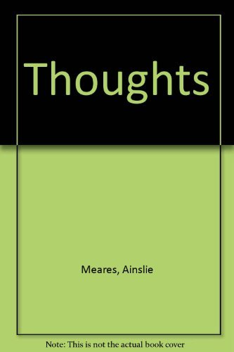 Thoughts (9780855721169) by Ainslie Meares