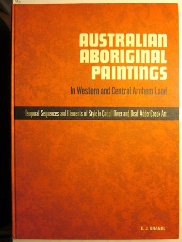 9780855751302: Australian Aboriginal Paintings: In Western And Central Arnhem Land