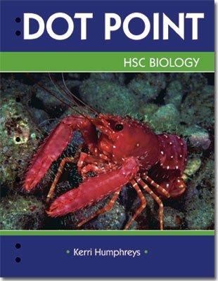 9780855835781: Dot Point Biology - HSC