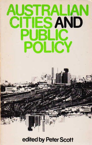 9780855855031: Australian cities and public policy