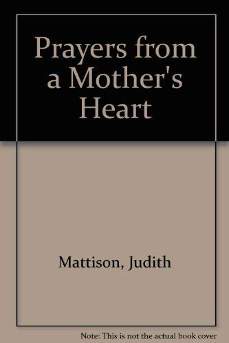 9780855970901: Prayers from a Mother's Heart