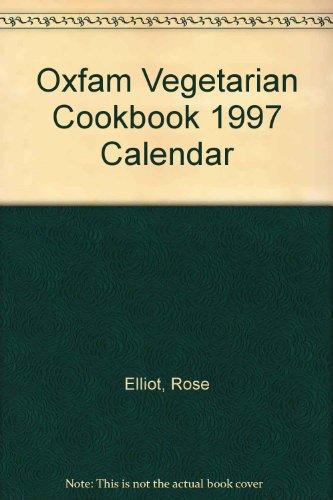9780855983574: Oxfam Vegetarian Cookbook 1997 Calendar
