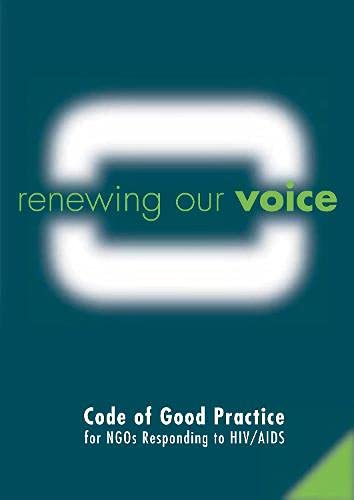 Renewing Our Voice: Code Of Good Practice: Julia Cabassi~David Wilson