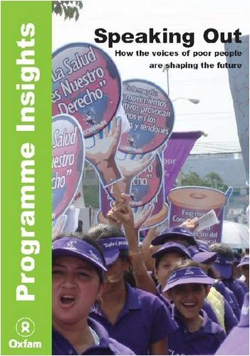 9780855986384: Speaking Out: How the Voices of Poor People are Shaping the Future (International Development)