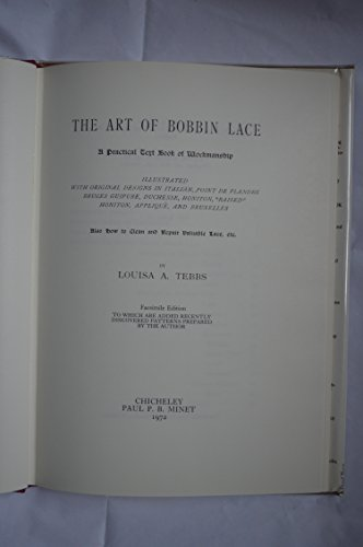 Art of Bobbin Lace: Tebbs, L.A.