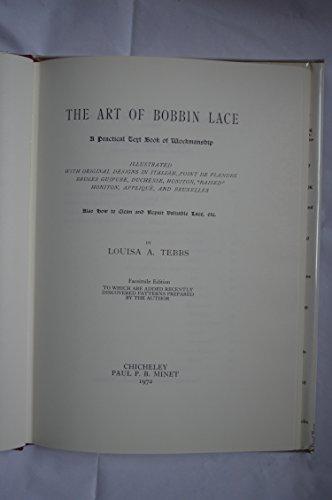 9780856090271: Art of Bobbin Lace