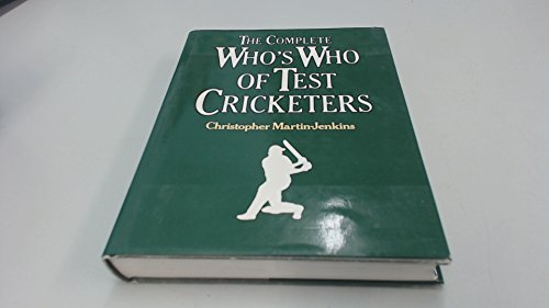 9780856132834: Complete Who's Who of Test Cricketers