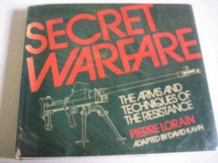 9780856135866: Secret Warfare