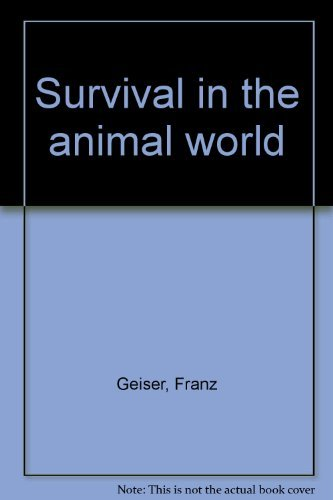 9780856138867: Survival in the animal world