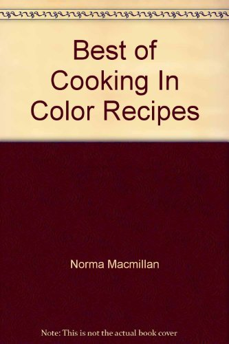 9780856139482: Best of Cooking In Color Recipes