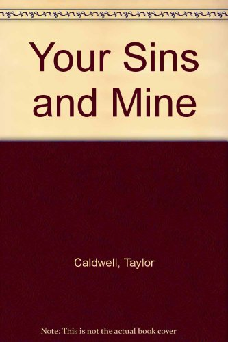 9780856173035: Your Sins and Mine