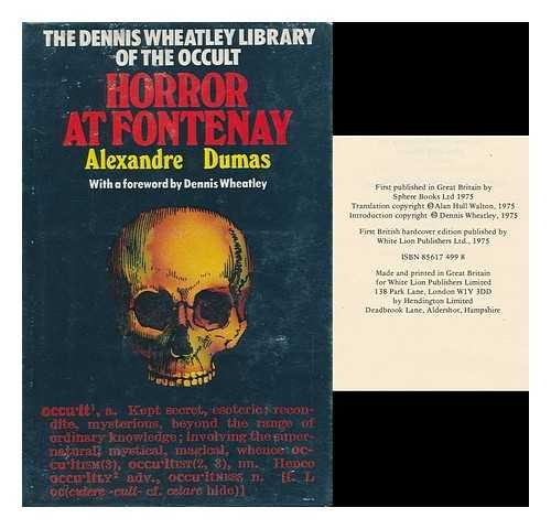 9780856174995: Horror at Fontenay (Dennis Wheatley library of the occult ; v. 25)