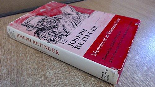 Memoirs of an Eminence Grise by Joseph: Retinger, Joseph -