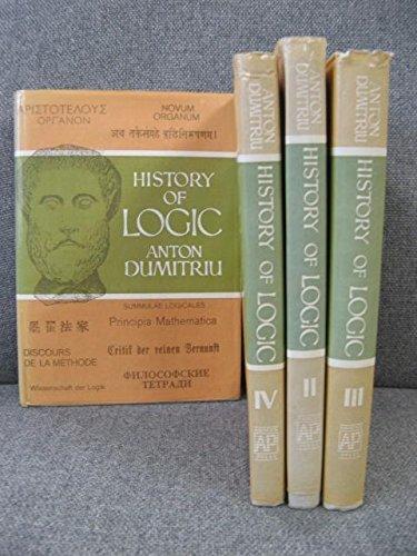 9780856261398: History of logic. Volumes I-V (four volumes in 1)
