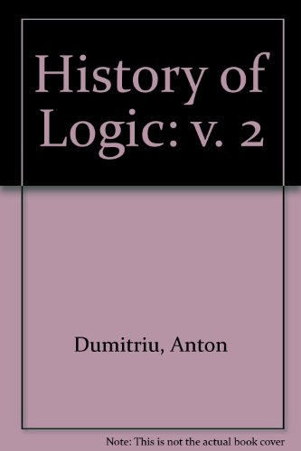 9780856261411: History of Logic