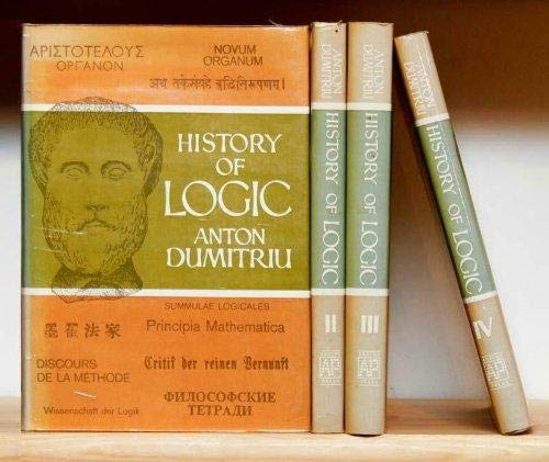 9780856261428: History of Logic