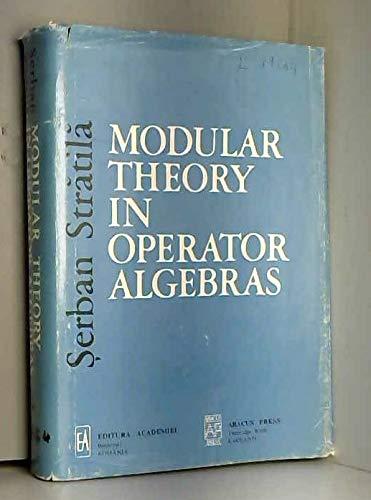 9780856261909: Modular Theory In Operator Alg