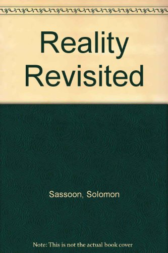 9780856264757: Reality Revisited