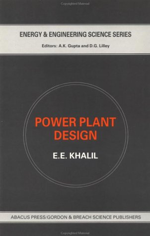 9780856265051: Power Plant Design (Energy and Engineering Science Series,)