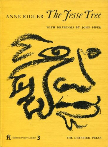 The Jesse Tree. With Drawings by John Piper: RIDLER, Anne