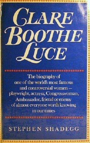 9780856320170: CLARE BOOTHE LUCE