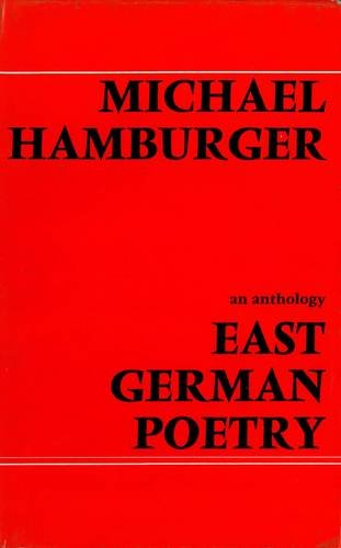 9780856350344: East German Poetry (German and English Edition)