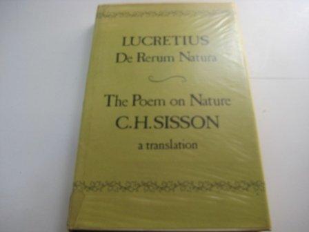 9780856351150 Poem On Nature Iberlibro Titus Lucretius