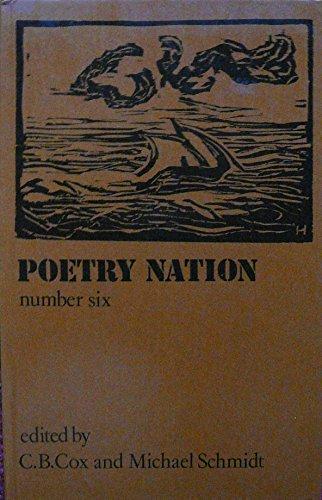 Poetry Nation 6. (Volume 3. Number 2): Cox, C B ; Schmidt, Michael [Eds]