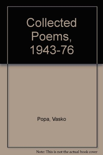 9780856352287: Collected Poems, 1943-76