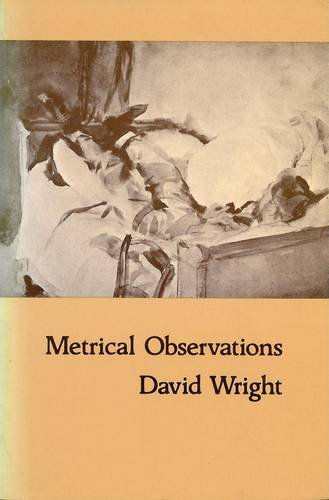 Metrical Observations (0856353094) by Wright, David