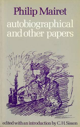 9780856353260: Autobiographical and Other Papers