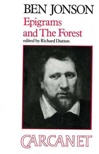 Epigrams and the Forest (Fyfield Books): Jonson, Ben