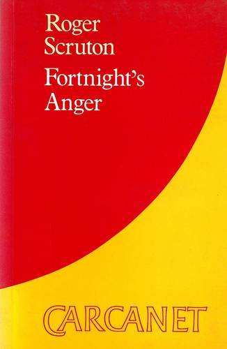 9780856355325: Fortnight's Anger (Carcanet Collection)
