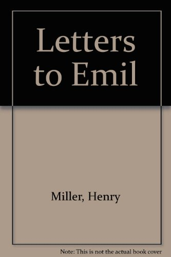 9780856359019: Letters to Emil