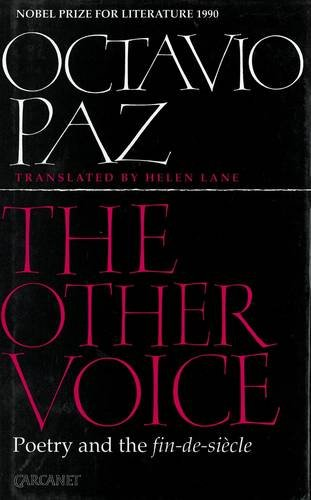 9780856359880: The Other Voice: Poetry and the Fin-de-siecle