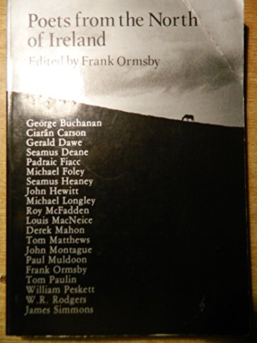 Poets from the North of Ireland: Ormsby, F (ed)