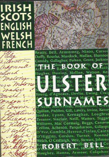 9780856404054: The Book of Ulster Surnames