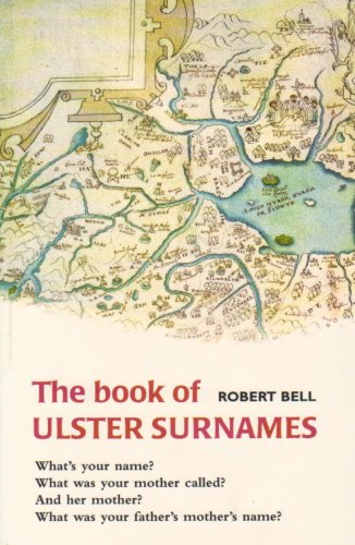 9780856406027: The Book of Ulster Surnames