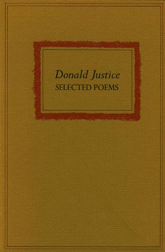 Selected Poems: Justice, Donald
