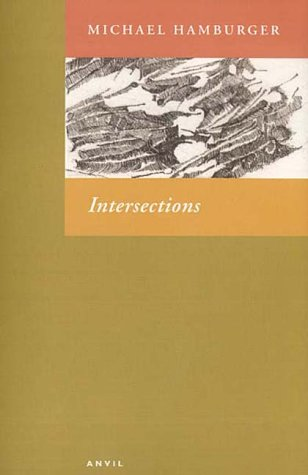 9780856463211: Intersections: Shorter Poems 1994-2000
