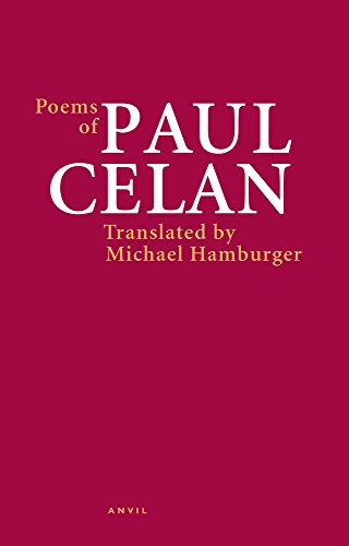 9780856463990: Poems of Paul Celan