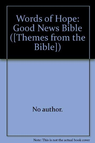 9780856480553 a word of hope themes from the bible