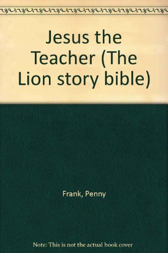 9780856487606: Jesus the Teacher