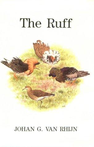 The Ruff: Individuality in a gregarious wading bird.: Johan G. Van Rhijn.