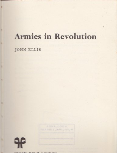 9780856640254: Armies in revolution