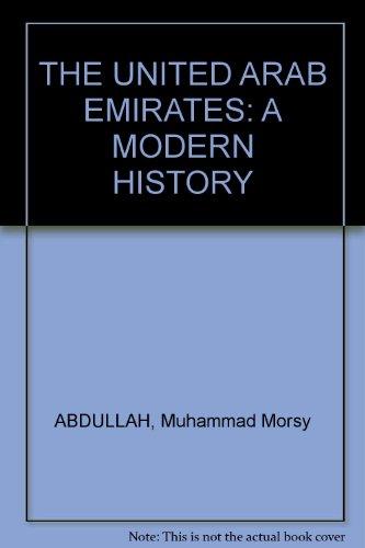 9780856643149: Modern History of the United Arab Emirates
