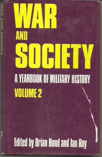 9780856644047: War And Society. A Yearbook of Military History Volume 2