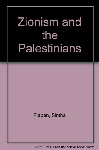 9780856644993: Zionism and the Palestinians