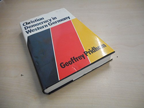 Christian Democracy in Western Europe: Pridham, Geoffrey